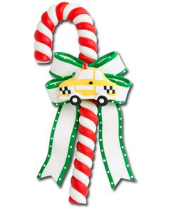 CL105N: Taxi Candy Cane