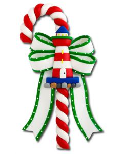 CL183: LIGHTHOUSE CANDY CANE