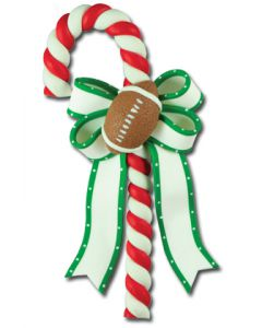 CL299: FOOTBALL CANDY CANE