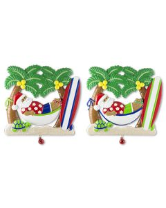 LR124: Tropical Santa Hammock