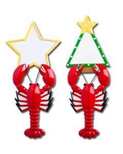 NT144: LOBSTER W/ STAR OR TREE