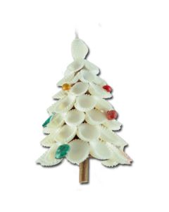 WS112: Shell Christmas Tree with Color