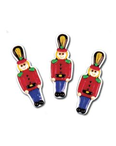 ST304: TOY SOLDIER STOCKING CHARM