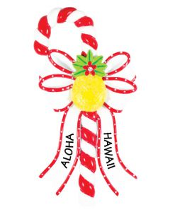 CAN107:  Pineapple Candy Cane